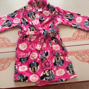 Disney Mini-mouse bathrobe
